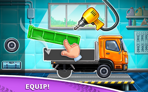 Bilder Truck games for kids - build a house 🏡 car wash - Img 1