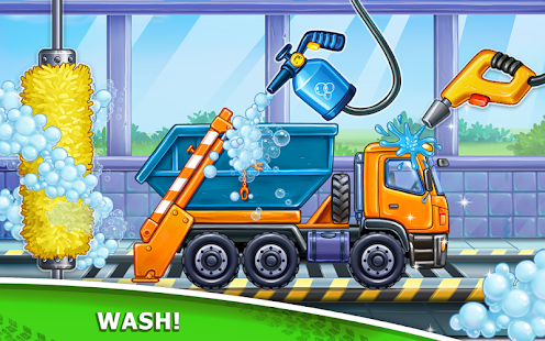 Bilder Truck games for kids - build a house 🏡 car wash - Img 2