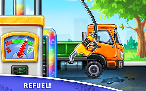 Bilder Truck games for kids - build a house 🏡 car wash - Img 3