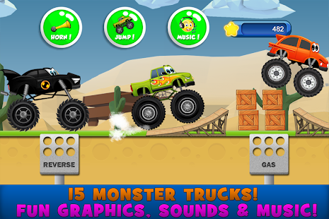 Bilder Monster Trucks Game for Kids 2 - Img 2