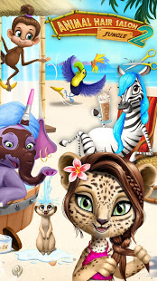 Bilder Jungle Animal Hair Salon 2 - Tropical Beauty Salon - Img 1