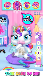 Bilder My Baby Unicorn - Virtual Pony Pet Care & Dress Up - Img 1