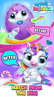 Bilder My Baby Unicorn - Virtual Pony Pet Care & Dress Up - Img 2