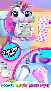 Bilder My Baby Unicorn - Virtual Pony Pet Care & Dress Up - Img 3