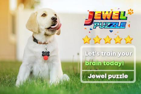Bilder Gem Crush™ - Jewel Blast & Block Puzzle Jigsaw - Img 1