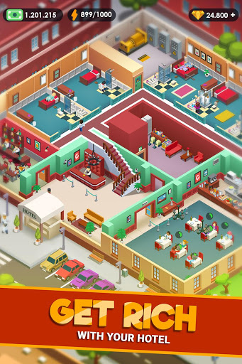 Bilder Hotel Empire Tycoon - Idle Game Manager Simulator - Img 2