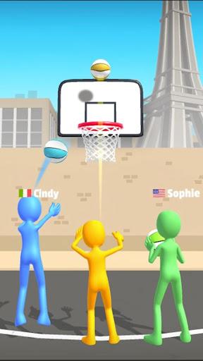 Bilder Five Hoops - Basketball Game - Img 1