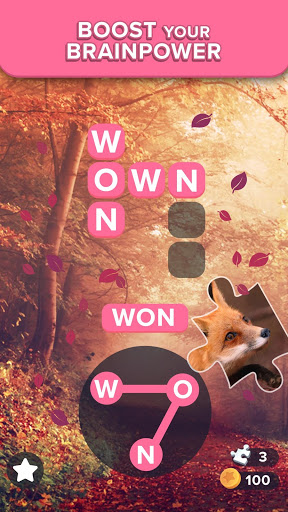 Bilder Puzzlescapes: Relaxing Word Puzzle Brain Game - Img 1
